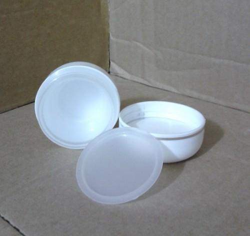 Pot 15 Gram Putih List Silver Bagian Dalam