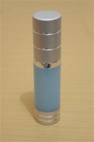 Botol Pump Impor 15 ML Biru | AIRLESS BOTTLE