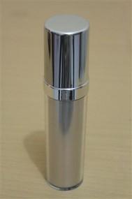Botol Pump Impor 35 ML Silver | AIRLESS BOTTLE