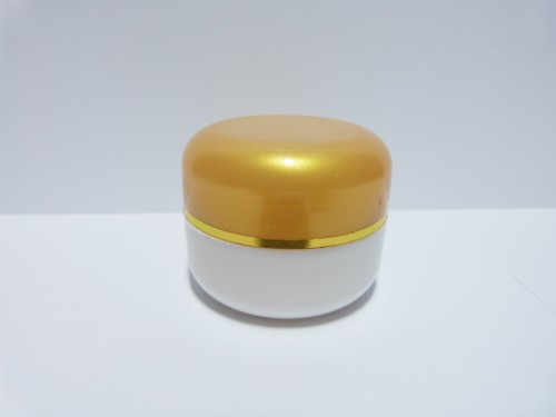Pot 12,5 Gram Oval Gold Muda Putih List Gold PP