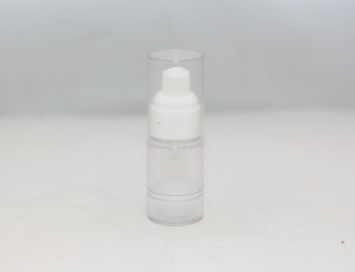 Botol Pump 15 ML Natural Airless Bottle