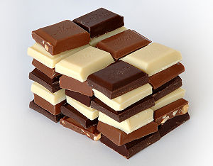300px-Chocolate / photo from http://en.wikipedia.org/wiki/Chocolate