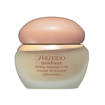 BENEFIANCE Firming Massage Mask - Photo from : http://www.shiseido.com