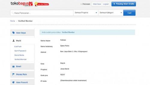 Toko Bagus verified member