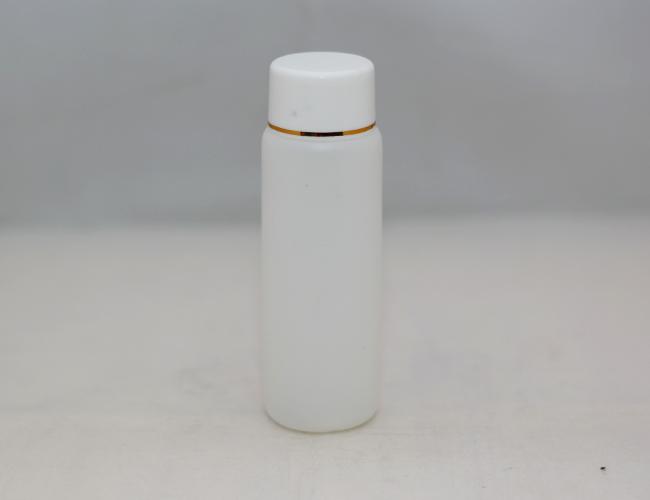 Botol Yadley 100 ML Putih Transparan List Gold