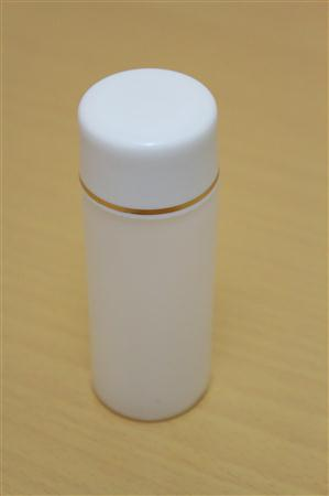 Botol Yadley 60 ML Putih Transparan List Gold