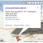 Alamat www.potcream.web.id