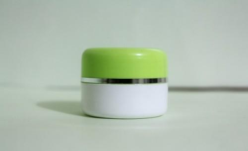 Pot Cream 12,5 Gram Hijau Stabilo Putih List Silver