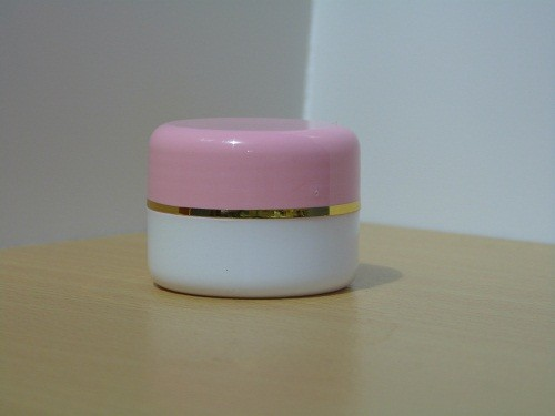 Pot Cream 12,5 Gram Pink Putih List Gold PP