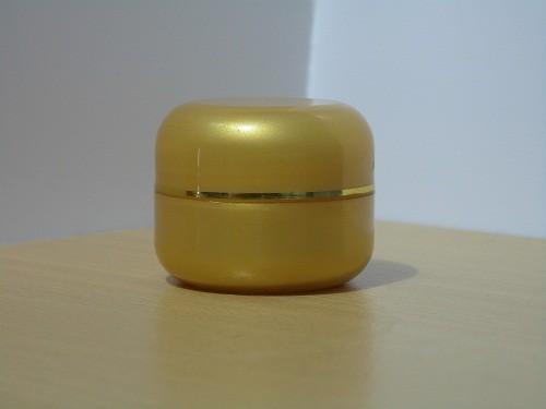 Pot Cream 12,5 Gram Oval Gold List Gold