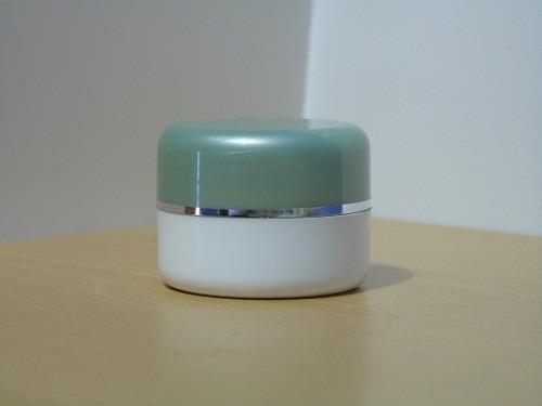 Pot Cream 12,5 Gram Hijau Lumut Putih List Silver