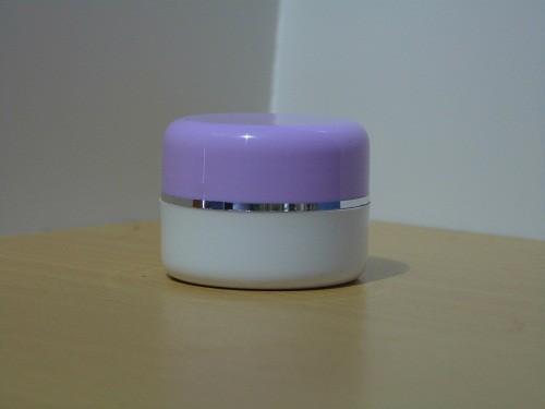 Pot Cream 12,5 Gram Ungu Putih List Silver
