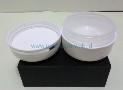 Pot 30 Gram Putih List Silver ( Exotica ) Bagian Dalam