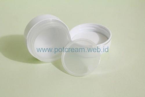 Pot 15 Gram Putih List Silver ( Inset ) Bagian Dalam